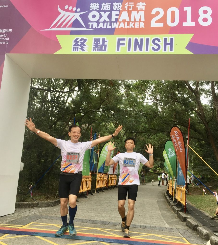 Oxfam Trailwalker 2018